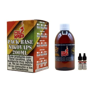 Oil4Vap Kit Base 200ml 80Vg 1.5Mg