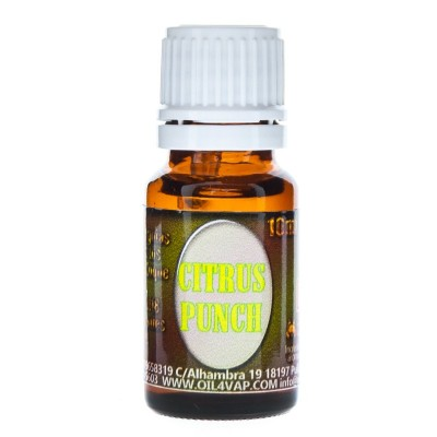 OIL4VAP MOLECULA CITRUS PUNCH 10ML