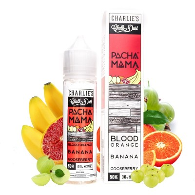 Pachamama Blood Orange Banana Gooseberry 50ml