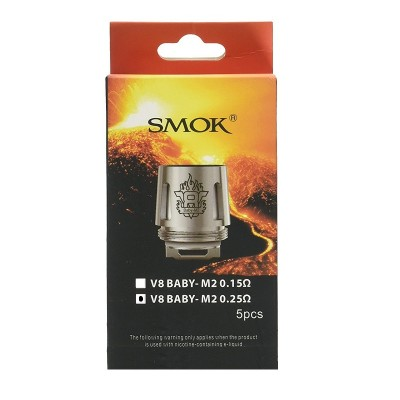 SMOK TFV8 BABY COIL M2 0,25OHM 1UD
