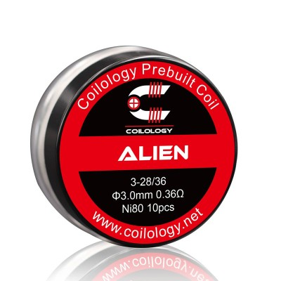 Coilology Coil Alien Ni80 Pack2