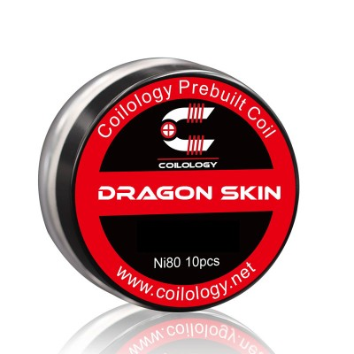 Coilology Coil Dragon Skin Ni80 Pack2