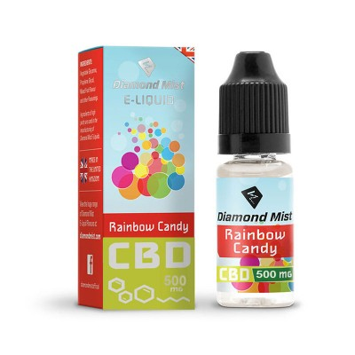 DIAMOND MIST CBD RAINBOW CANDY 500MG