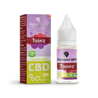 DIAMOND MIST CBD TOONZ 250MG