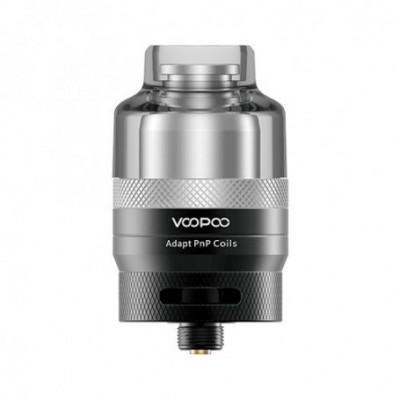 Voopoo Drag Rta Single Coil Pod Black And Silver