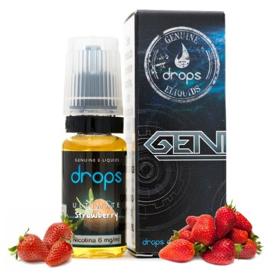 Drops Ultimate Strawberry 10ml 0mg