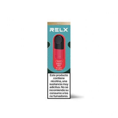 Relx Cartucho Fresh Red pack 2 uds