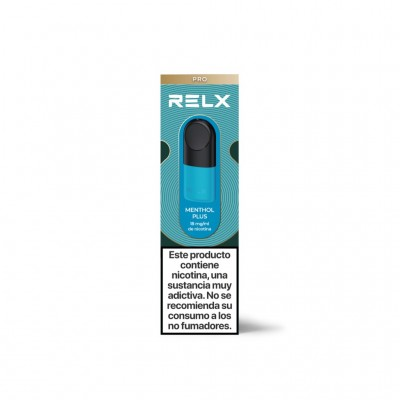 Relx Cartucho Menthol Plus pack 2 uds