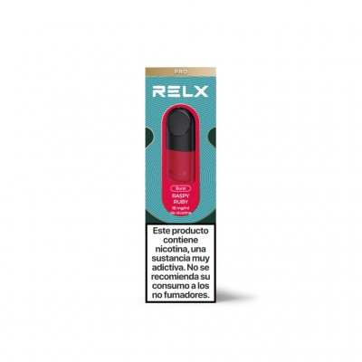 Relx Cartucho Ruby Raspy pack 2 uds