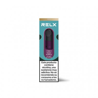 Relx Cartucho Tangy Purple pack 2 uds