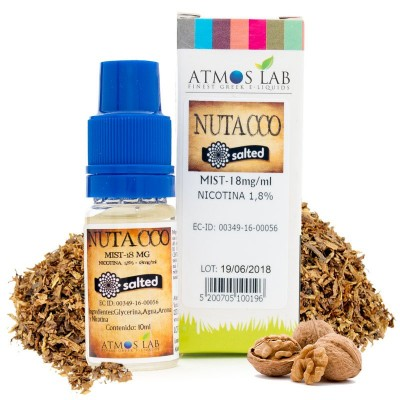 ATMOS LAB SALES NUTACCO 10ML 18MG